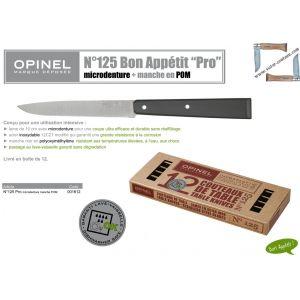 Remise 10% Lot 12 Couteaux de table Opinel Bon appétit PRO