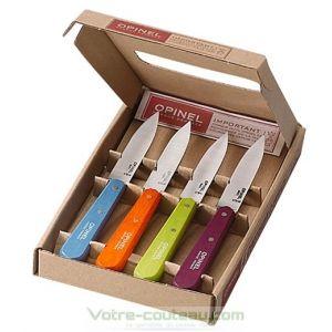Coffret 4 couteaux Opinel office acidules