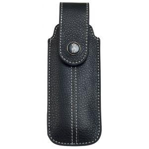 Etui en cuir noir pour Opinel N8