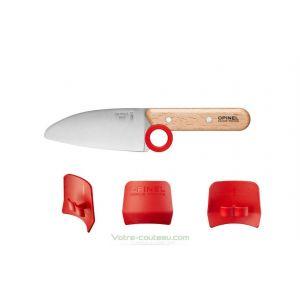 Couteau petit chef Opinel avec protège doigts