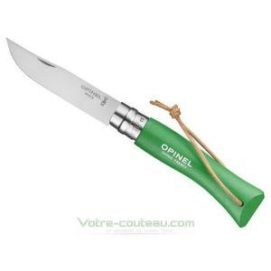 Couteau Opinel Baroudeur N7 Vert