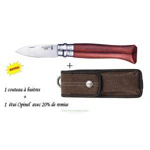 PAC couteau à huitre Opinel avec étui