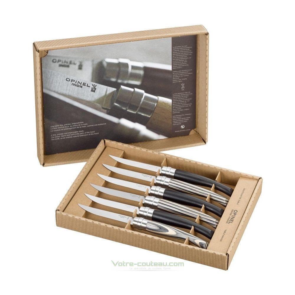 Couteaux de table opinel en b ne et bouleau - Couteau de table opinel ...